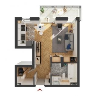 Apartamente 1 camera